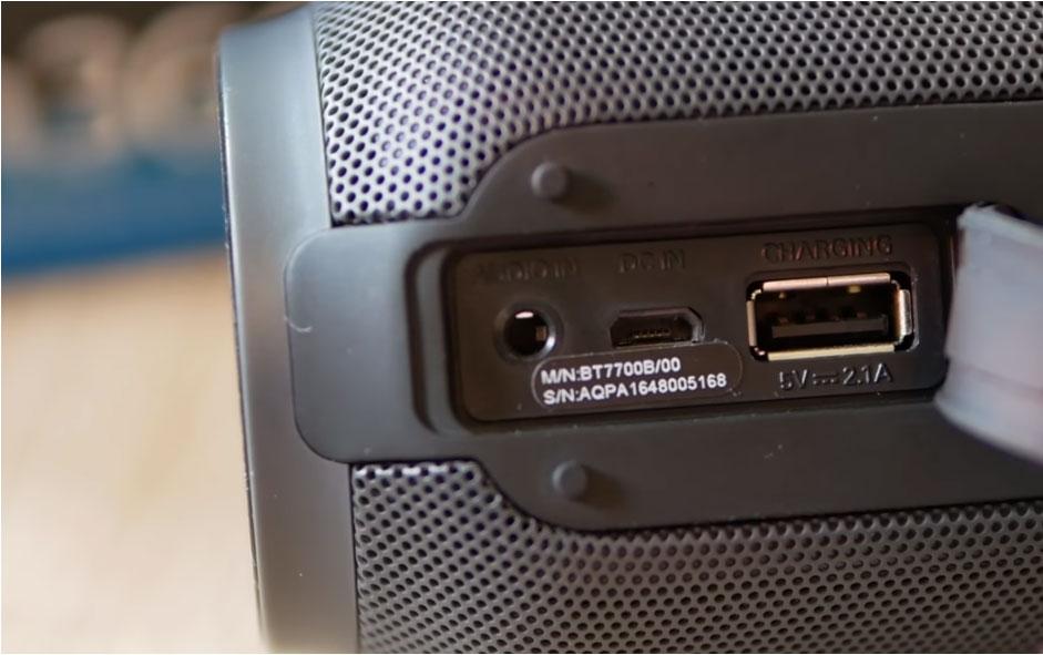 Bluetooth-altavoz-Philips-BT7700