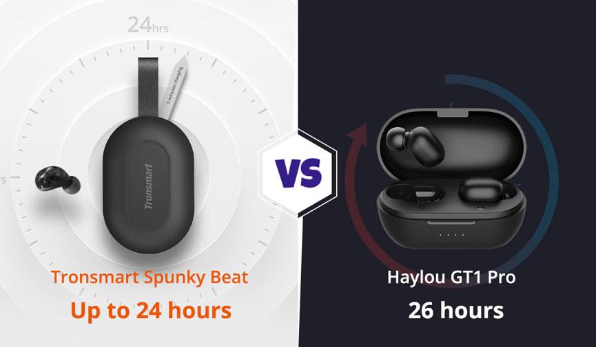 Tronsmart-Spunky-Beat-vs-Haylou-GT1-Pro-autonomy