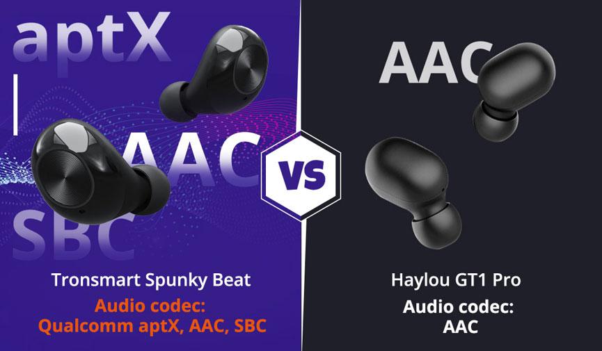 Tronsmart-Spunky-Beat-vs-Haylou-GT1-Pro-son