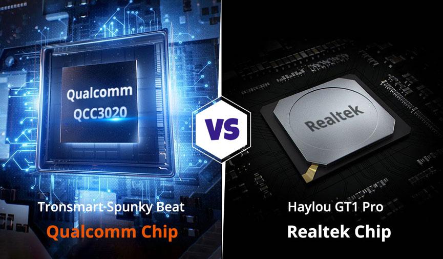 Conjunto de chips Tronsmart-Spunky-Beat-vs-Haylou-GT1-Pro