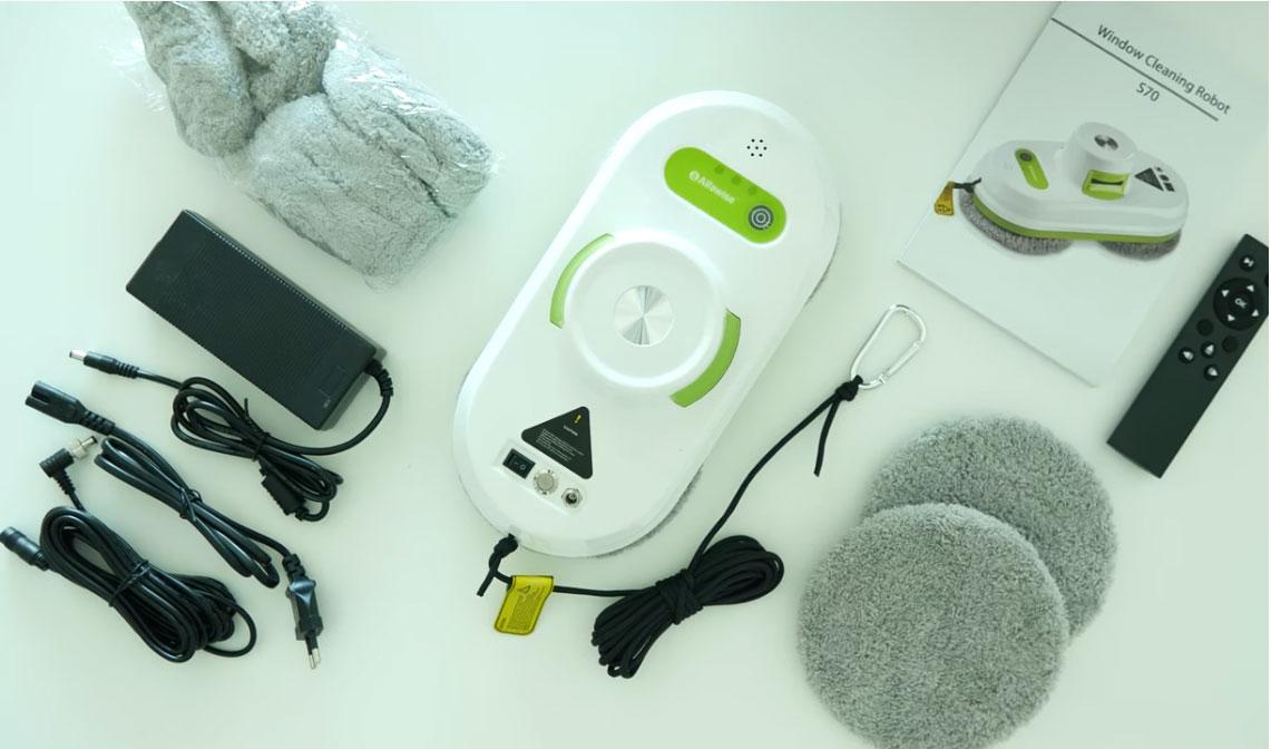robot limpiacristales-Alfawise-S70