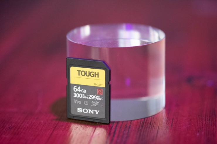 Tarjeta Sony-Tough
