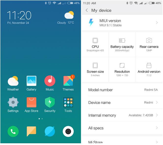 Prueba Xiaomi-Redmi-5a