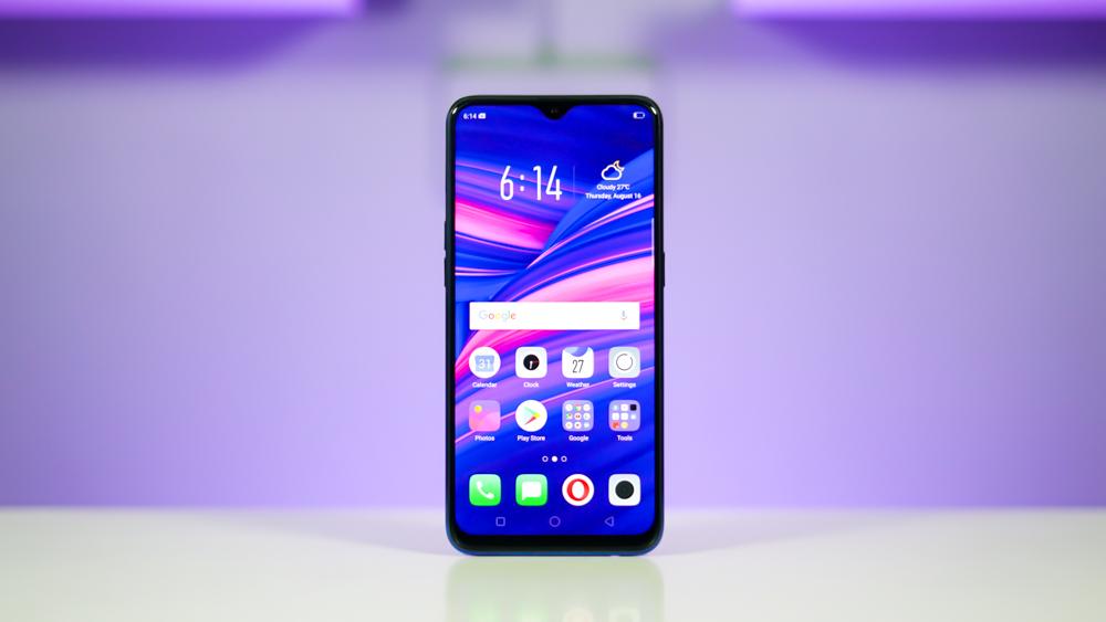 Oppo-F9-teléfono inteligente