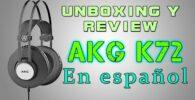 analisis del casco akg k72