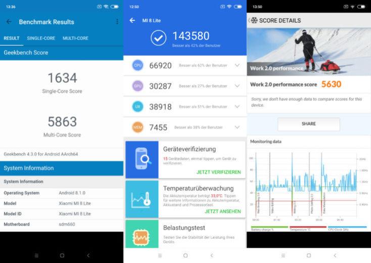 Teléfono inteligente Xiaomi-Mi 8-Lite